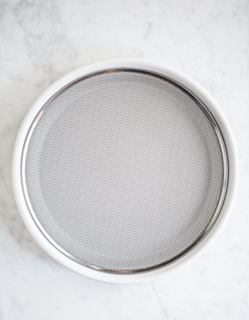 Starter sieve with bowl ∅ 21,5 cm