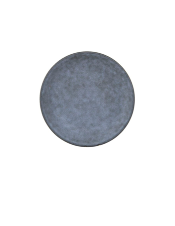 Porcelain Plate Gray Stone