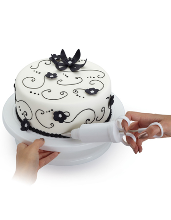 Sweetly Does It Revolving Cake Decorating Turntable