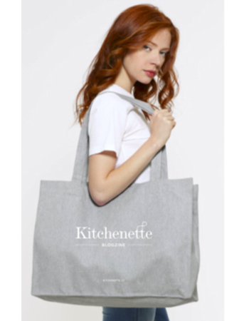 Fabric Bag Kitchenette - Gray