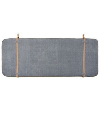 Rear headrest Beige / Navy blue
