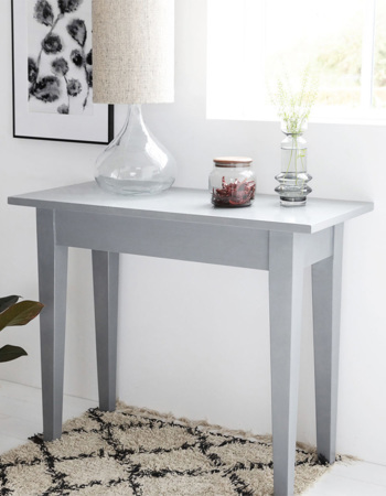 Table of Musk Wood Gray 100 x 45