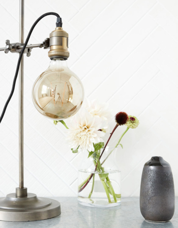 Industrial led bulb Gray
