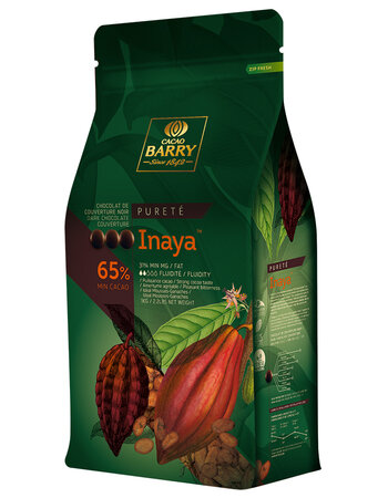 Chocolate INAYA 65% 1 kg of Cacao Barry