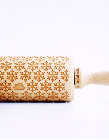"Embossed roller ""Flakes"""