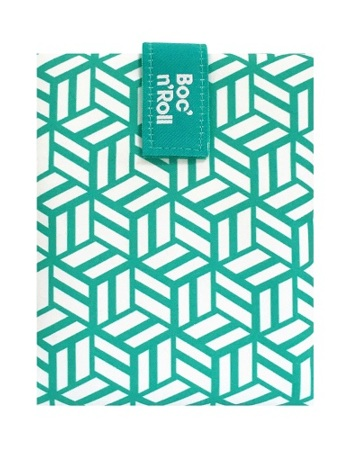 Snack pocket - Boc'n Roll Tiles Green