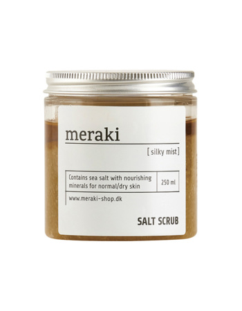 Body scrub with sea salt Silky mist