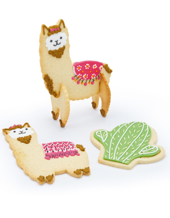 Sweetly Does It 3D Llama Cookie Cutters
