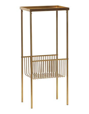 Metal Brass Console Table