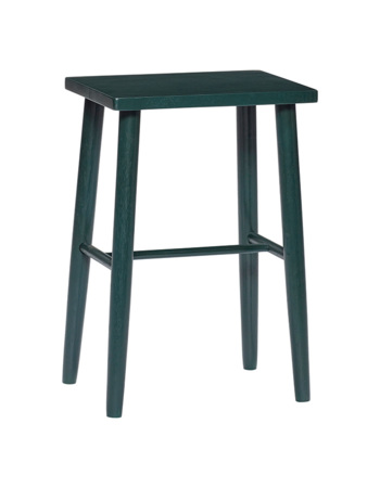 Green Wooden Bar Stool
