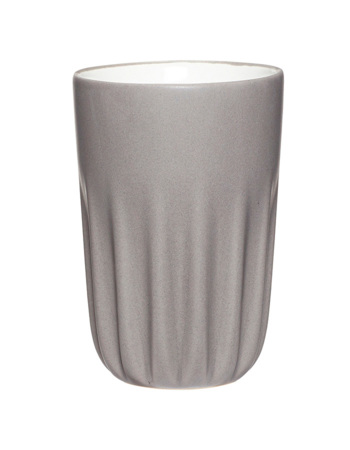 Grey Porcelain Cup
