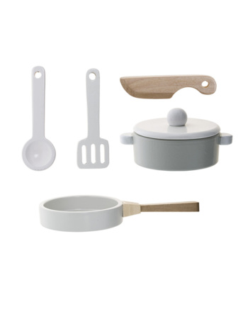 Play Set, Kitchen, White, MDF