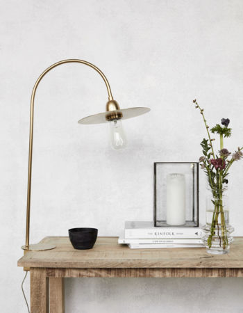 Table Lamp Glow Brass