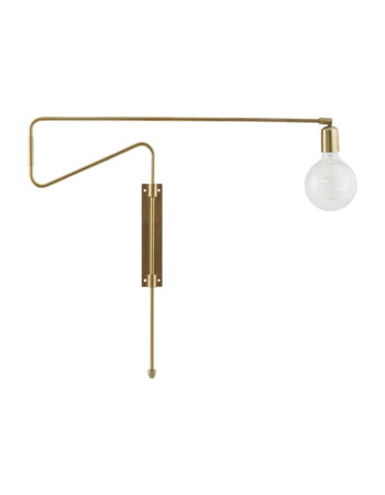 Wall Lamp Brass Swing 70 cm