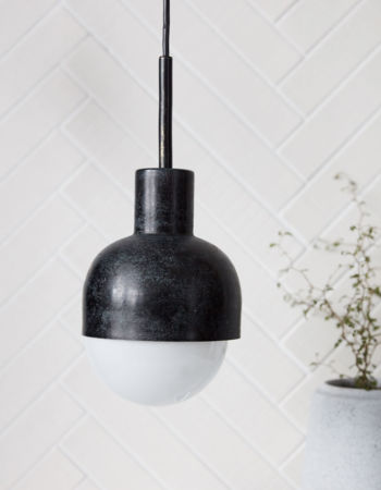 Lamp Glow Black Oxidized