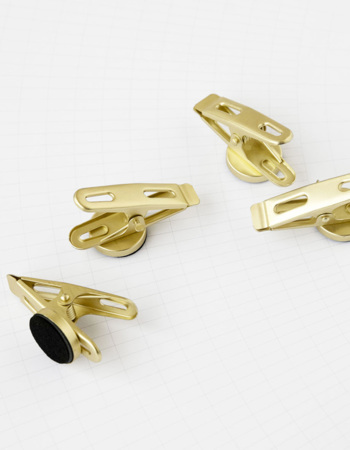 Clips Magnets Brass