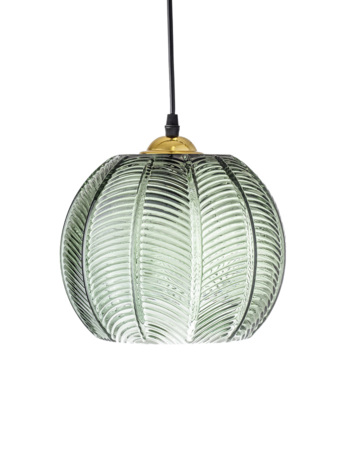 Pendant Lamp, Green, Glass