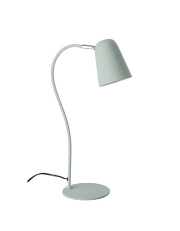 Table lamp, Green, Metal