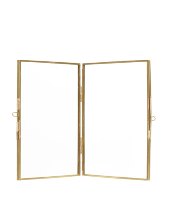 Photo Frame Brass 21 x 15