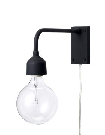 Wall Lamp Black Metal