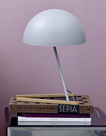 Table lamp, Grey, Metal