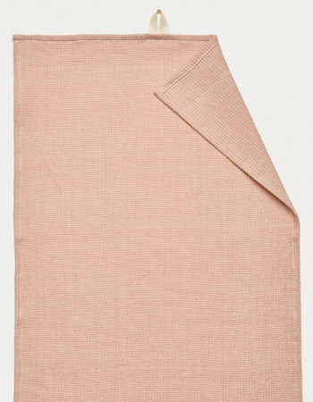 Agnes Tea Towel, Dusty Pink