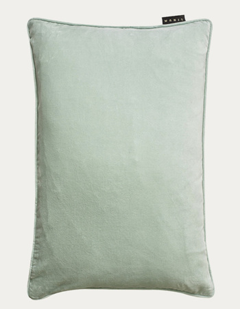 Paolo Cushion Cover, light ice green, 50x90