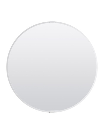 Mirror White steel dia 50
