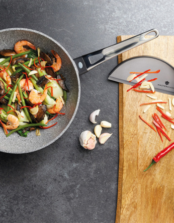 MasterClass Stir Fry Pan / Wok For Induction Hob