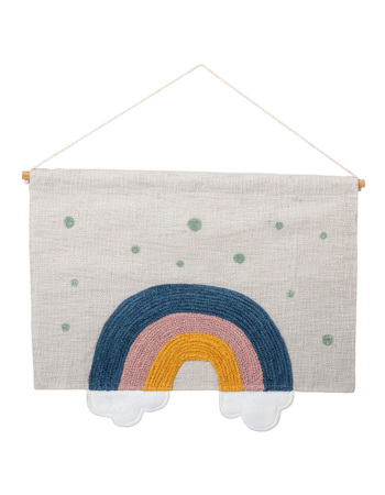 Wall Hanger, Multi-color, Cotton