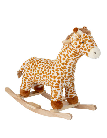 Rocking Toy, Giraffe, Multi-color, Polyester