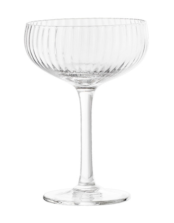 Champagne Glass, Clear, Glass