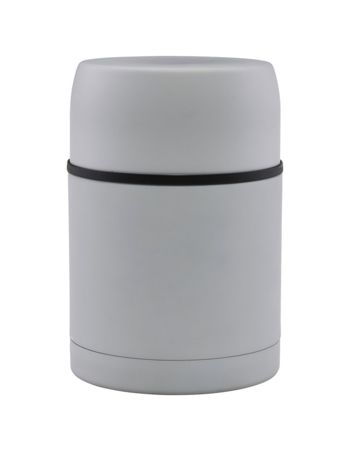 THERMOS, MATT, light grey, 500 ML