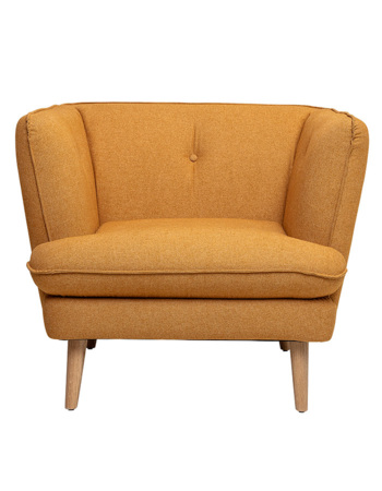 Elliot Chair, Orange, Polyester