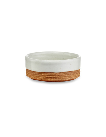 Mali Ribbed Nibble Bowl - White