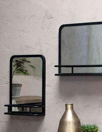 Demsa Mirror With Shelf Small