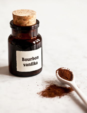 Bourbon vanilla fried organic