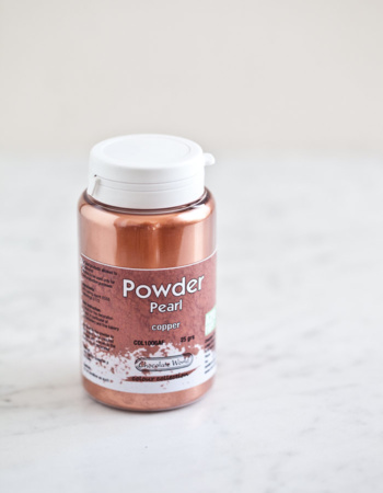 "Pearl powder ""Copper"""