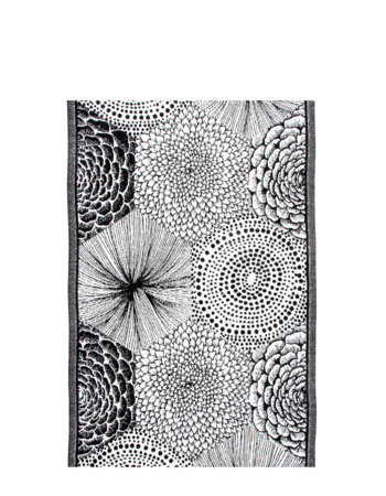 RUUT cloth black and white 48x70