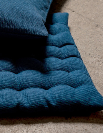 Seat Cushion Pepper Indigo Blue