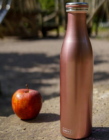 Trendy termo bottle Lurch - 750 ml rose gold