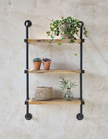 Pasu wide triple shelf
