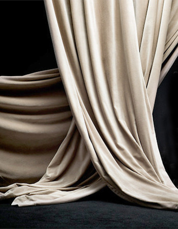 Paolo Curtain Creamy beige