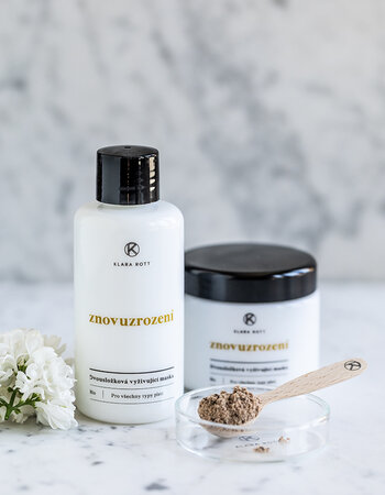 Znovuzrození - Two-component nourishing mask for all skin types