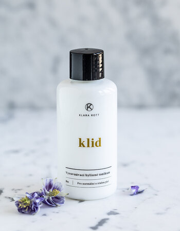 Klid - Balancing herbal tonic for normal and mature skin