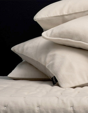 Paolo Cushion Cover, Creamy beige, 50x90