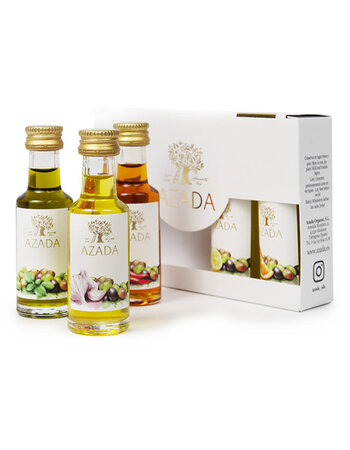 Set of Organic Virgin Olive Oils 5x20 ml