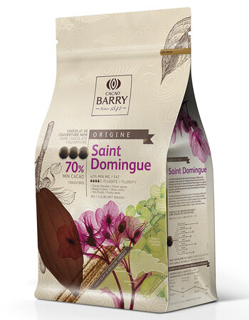 Chocolate SAINT DOMINGUE 70% 1 kg Cacao Barry
