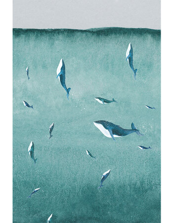 "Print aquarelle ""Depths"""