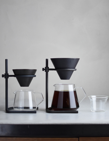 Slow coffee set 2 cups